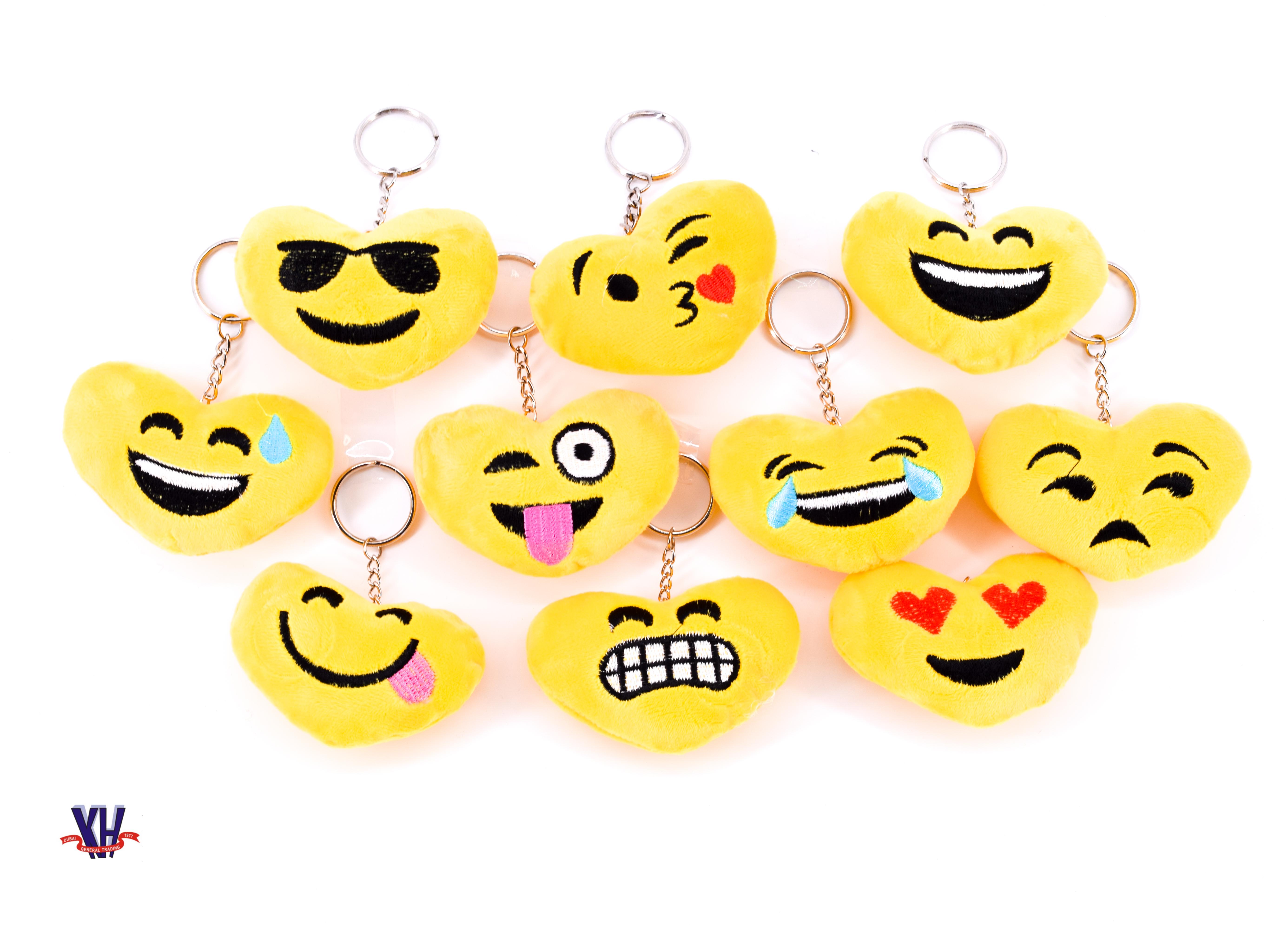 Emoji's key holder's
